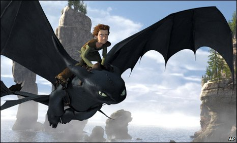 Image from Dreamworks' How to Train Your Dragon