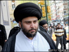Moqtada Sadr in March 2009
