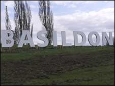 Basildon sign, picture Jeane Trend-Hill