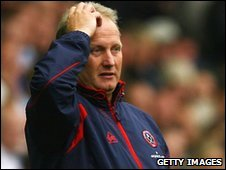 Sheffield United manager Kevin Blackwell.
