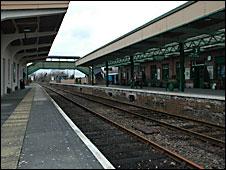 Okehampton station 2010