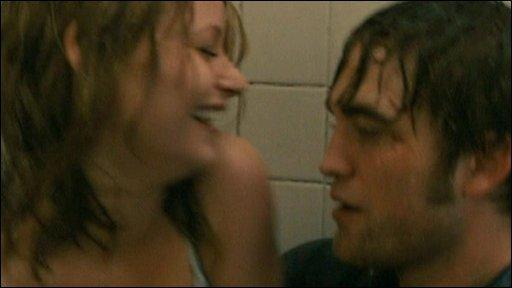 Emilie de Ranvin and Robert Pattinson