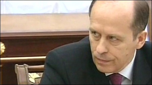 FSB chief Alexander Bortnikov says suicide bombers who attacked Moscow Metro had links to the North Caucasus region.