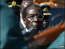 President Robert Mugabe (file photo)
