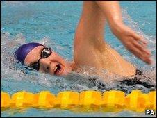 Rebecca Adlington at British Championships