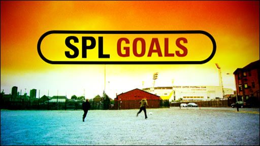 SPL goals from BBC Scotland