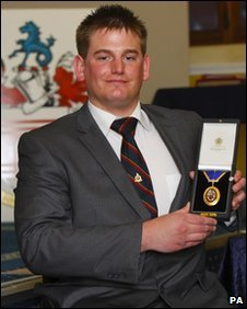 Royal Marine Joe Townsend