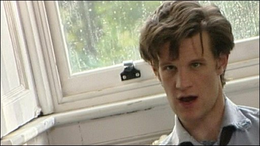 Behind the scenes  with the new Doctor Who, actor Matt Smith