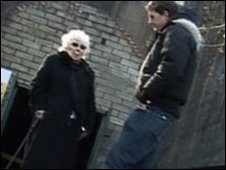 Historian Dan Snow and Rosina Parry a former on-site weapons inspector