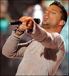 Ricky Martin, pictured in 2006