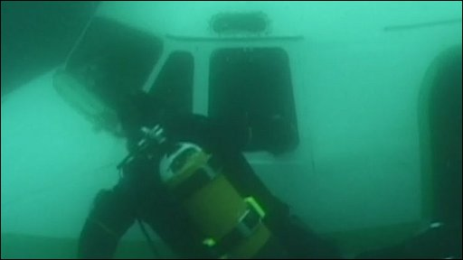 Sunken Planes http://news.bbc.co.uk/local/lancashire/hi/people_and_places/newsid_8594000/8594884.stm
