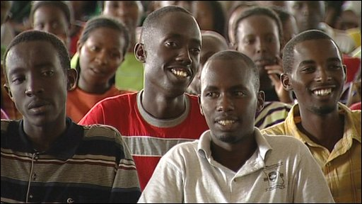 Rwandan students