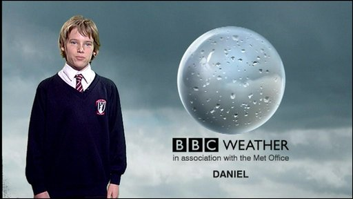 Weather report by School Reporter Daniel from Prospect School