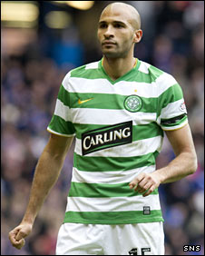 Celtic forward Diomansy Kamara