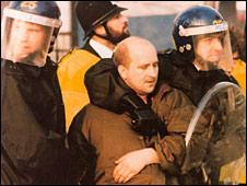 Roy Hanney's arrest