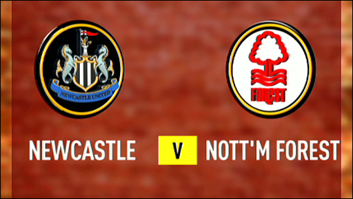 Newcastle v Nottingham Forest