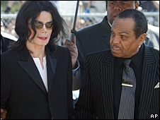 Michael and Joe Jackson