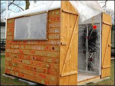 Sensory shed at Glenwood School in Benfleet