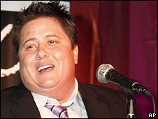 Chaz Bono, pictured last November
