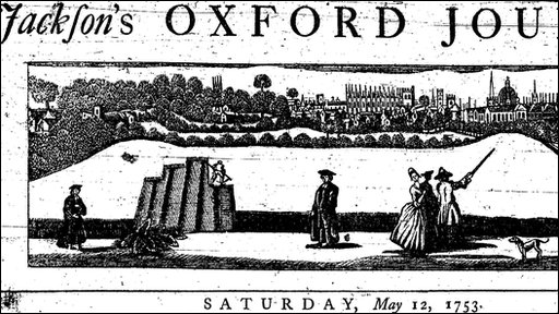 Oxford Journal masthead