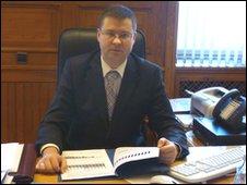 Latvian Prime Minister Valdis Dombrovskis