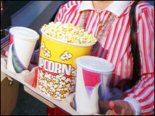 Cinema popcorn (file pic)