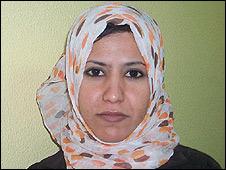 Amina al-Hasanat, Palestinian, Gaza
