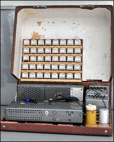 The Soviet transmitter found near Aberystwyth