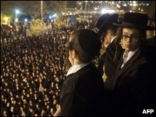Protests by Orthodox jews