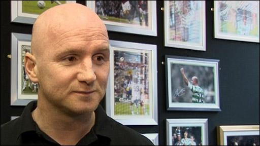 Former Celtic striker John Hartson