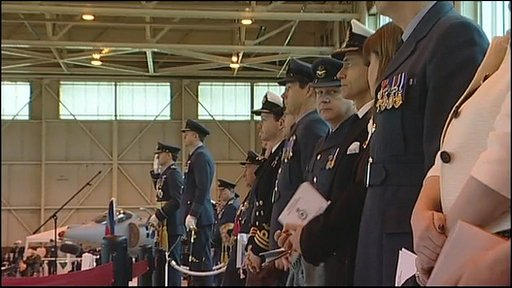 Ceremony at RAF Cottesmore