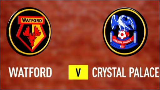 Watford 1-3 Crystal Palace