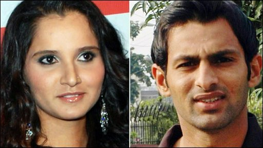 Sania Mirza is Indian, her husband to be, Shaoib Malik, hails from Pakistan.