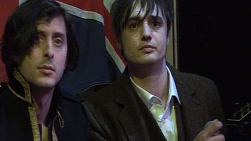 Carl Barat and Peter Doherty