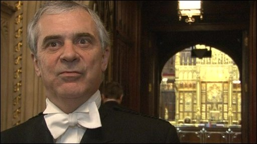 Sir Freddie Viggers, Black Rod
