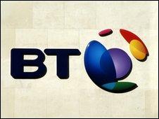 BT logo, BT exchange flood