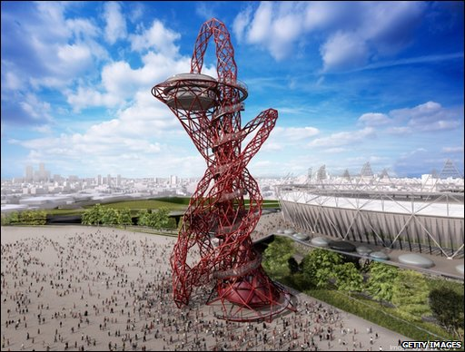 Anish Kapoor Sculpture For 2012 Olympic Park