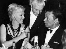 Frank SInatra and Marilyn Monroe at the Cal Neva