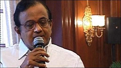 India&amp;apos;s Home Minister P Chidambaram
