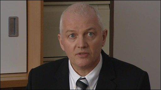 Mark Sherry, head teacher of Lanark Grammar School