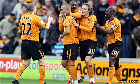 Craig Fagan scored Hull's second goal on Saturday