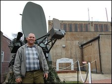 Bentwaters Cold War Museum and Erroll Frost