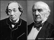 Benjamin Disraeli and William Gladstone