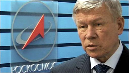 Roscosmos chief Anatoly Perminov