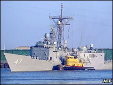 USS Nicholas. File photo