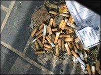 Stympiau sigarets
