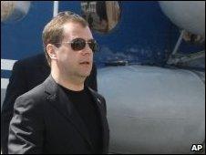 Dmitry Medvedev in Dagestan