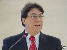 Cuban Foreign Minister Bruno Rodriguez. File photo