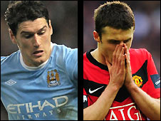 Gareth Barry (left) and Michael Carrick should be on the plane to South Africa