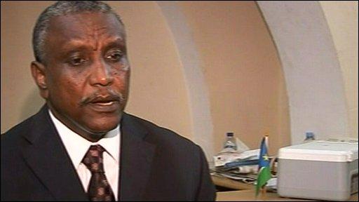 SPLM presidential candidate Yassir Arman